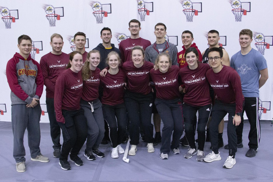 Cadets at the Notre Dame Tournament